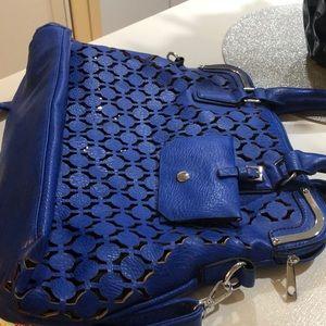 NWT blue purse